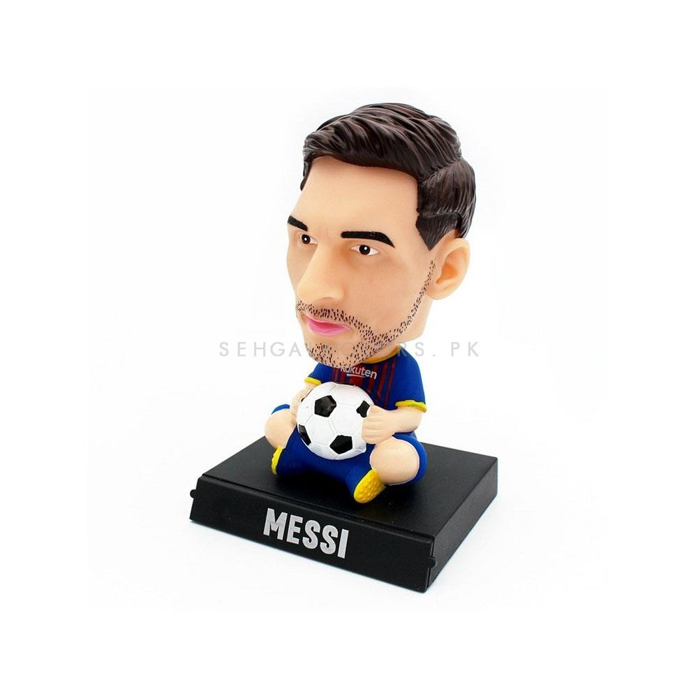 Lionel Messi Automobile Bobble Head Shaking Doll For Dashboard | Dashboard Decoration Auto Interior Accessories | Shaking Head Toy Car Ornaments -SehgalMotors.Pk