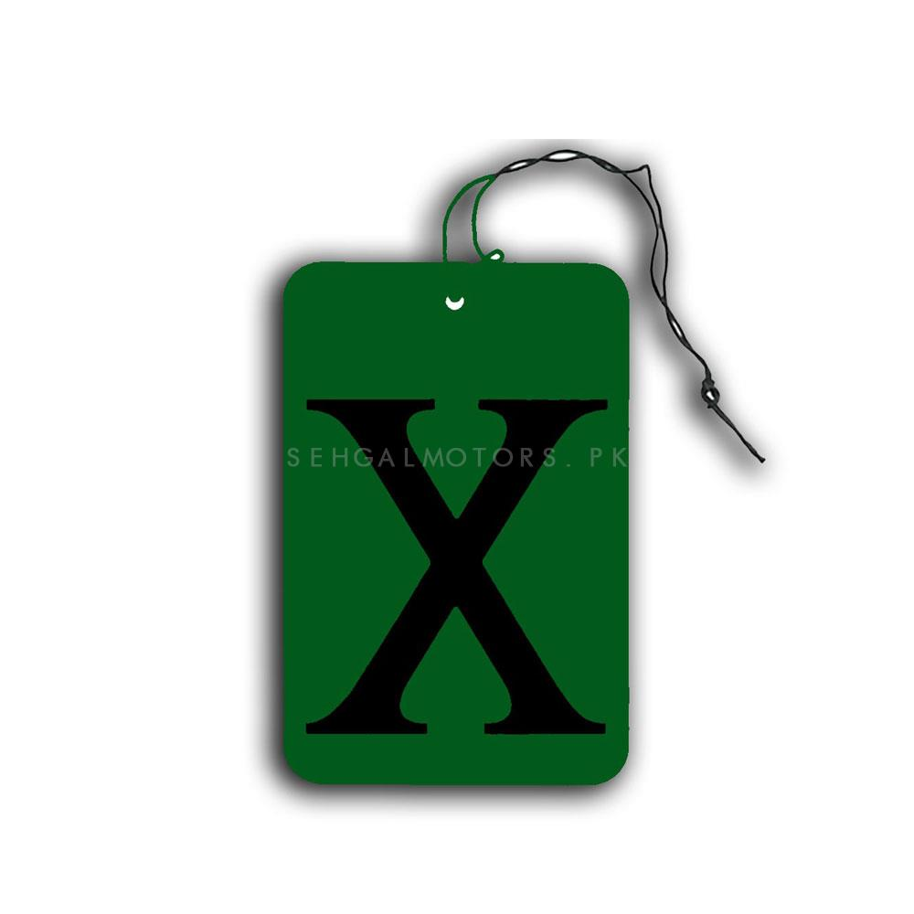 X card Car Perfume Fragrance Hanging Mix Colors | Car Perfume | Fragrance | Air Freshener | Best Car Perfume | Natural Scent | Soft Smell Perfume-SehgalMotors.Pk