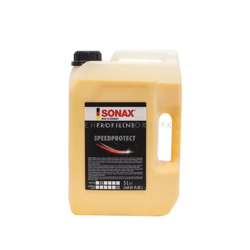 Sonax Speed Protect Carnauba Protection - 5L   Car Polish   Liquid Polish   Best Wax   Car Care Product   Best Polish   Car Cleaning Agent   Polish For Car Body   Easy Operation For Caring And Maintenance Clean   Hydrophobic-SehgalMotors.Pk