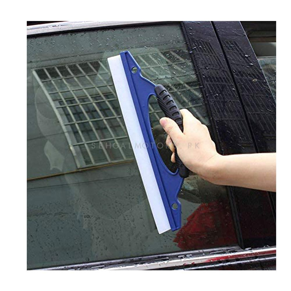 Car Window Easy Grip Glass Cleaning Wiper Blade Shower Screen Washer Drying Cleaner-SehgalMotors.Pk