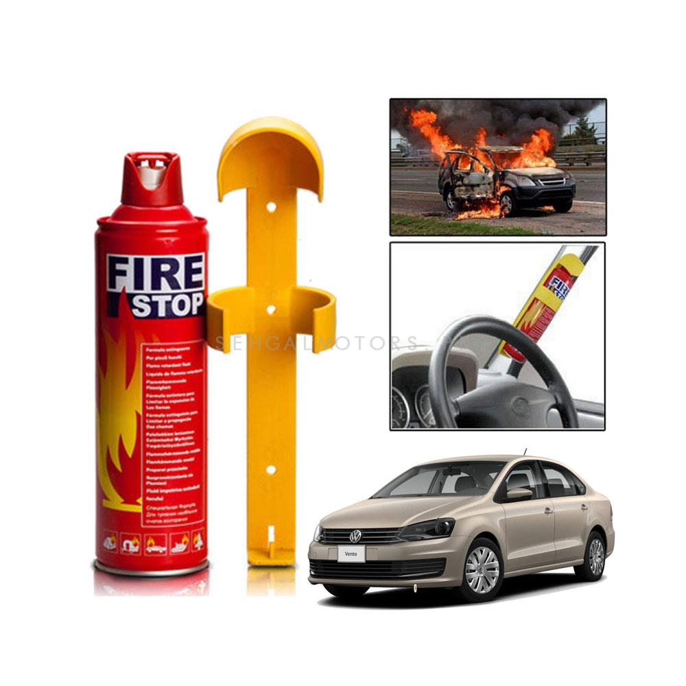 Fire Extinguisher Can Fire Stop Multi - Each | Portable Size Lightweight Household Car Use  Fire Extinguisher | Compact Fire Extinguisher for Laboratories, Hotels, Cars | Fire Extinguisher Safety Flame Fighter Home Office Car | -SehgalMotors.Pk
