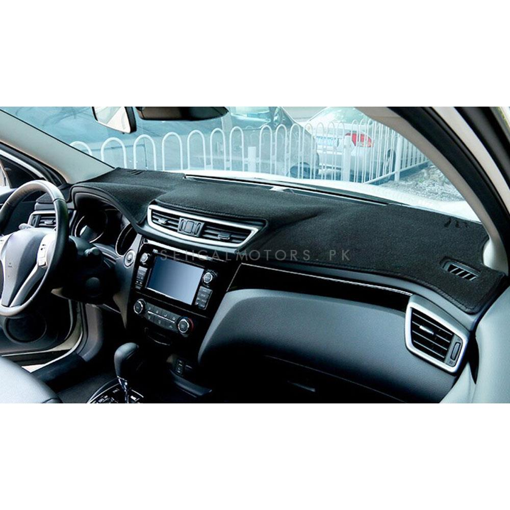Daihatsu Cuore Dashboard Carpet For Protection and Heat Resistance Black - Model - 2000 - 2012-SehgalMotors.Pk