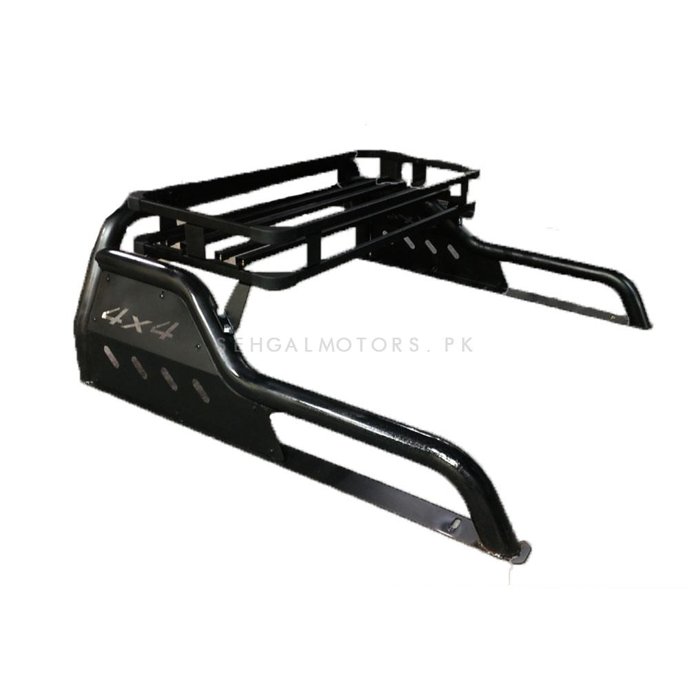 Universal 4x4 Roll Bar Hamer Style With Carrier | Sport Roll Bar | 4x4 Accesories | Auto Decoration Accesories-SehgalMotors.Pk