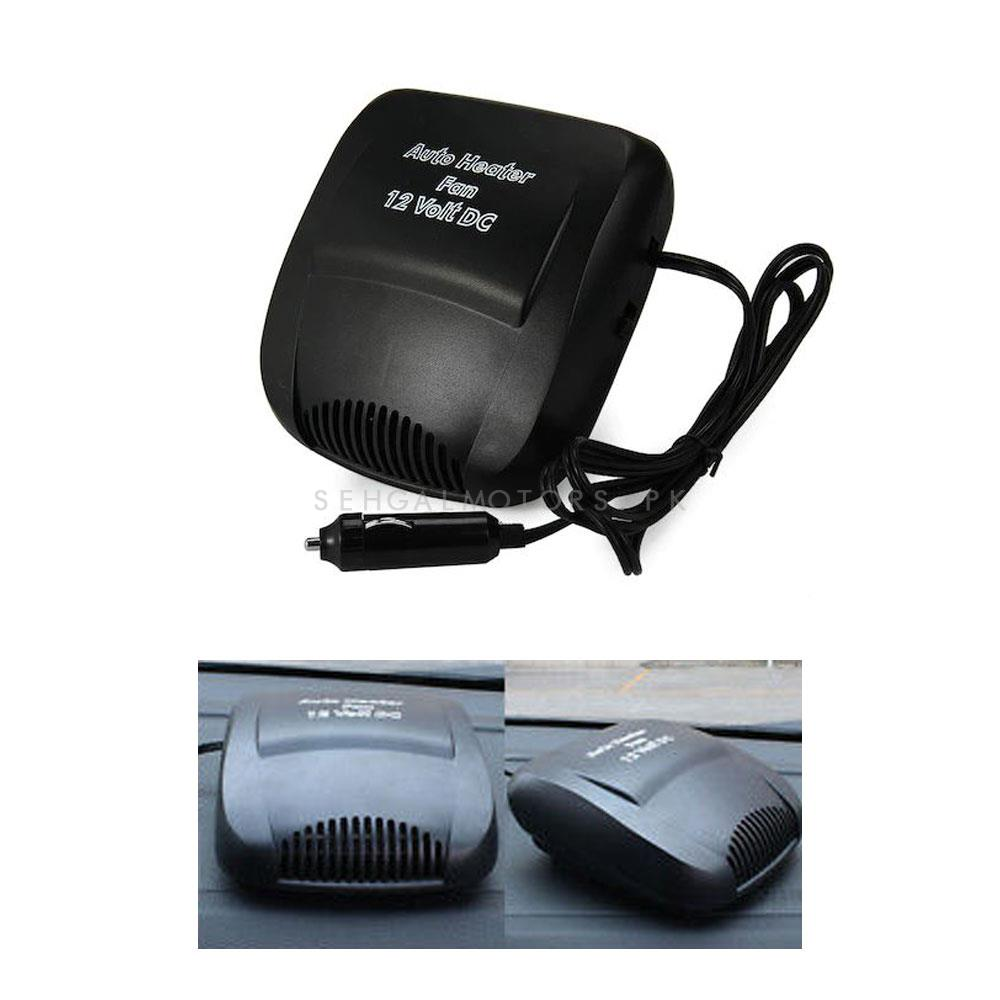 Heavy Duty Portable Car Heating Defroster Fan | Auto Heater Fan 12 Volt DC | Winter Essential Car Heater Blower-SehgalMotors.Pk