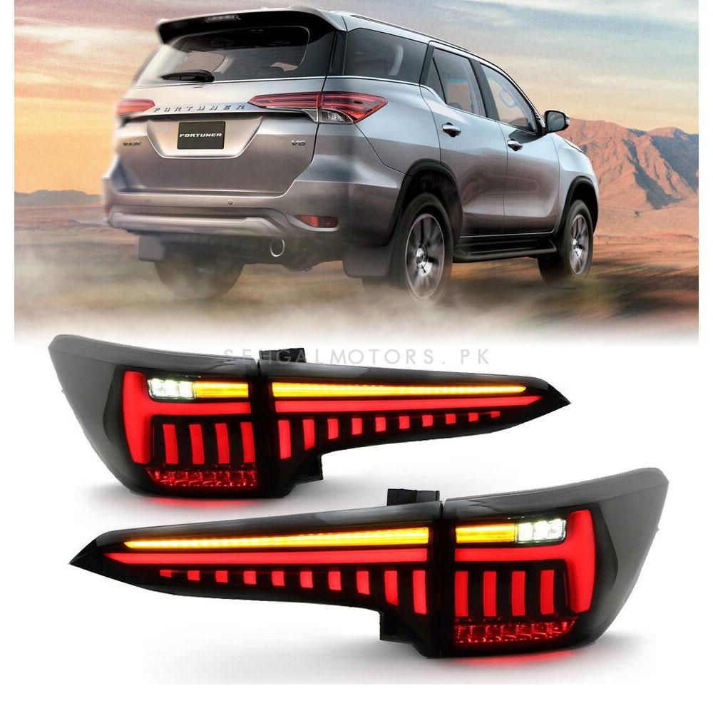 Toyota Fortuner Sequential Lexus Style Back Lamps / Back Lights Version 2 - Model 2016-2020-SehgalMotors.Pk