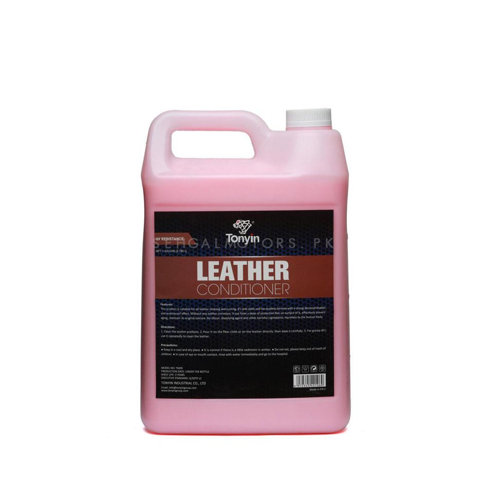 Tonyin Leather Conditioner - 1 Gallon-SehgalMotors.Pk