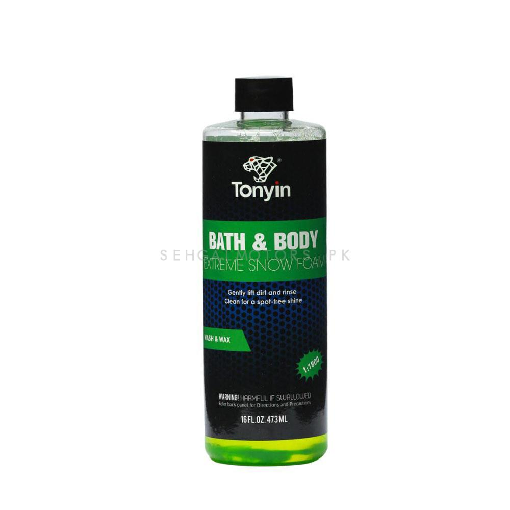Tonyin Bath and Body Extreme Snow Foam - 473ML-SehgalMotors.Pk