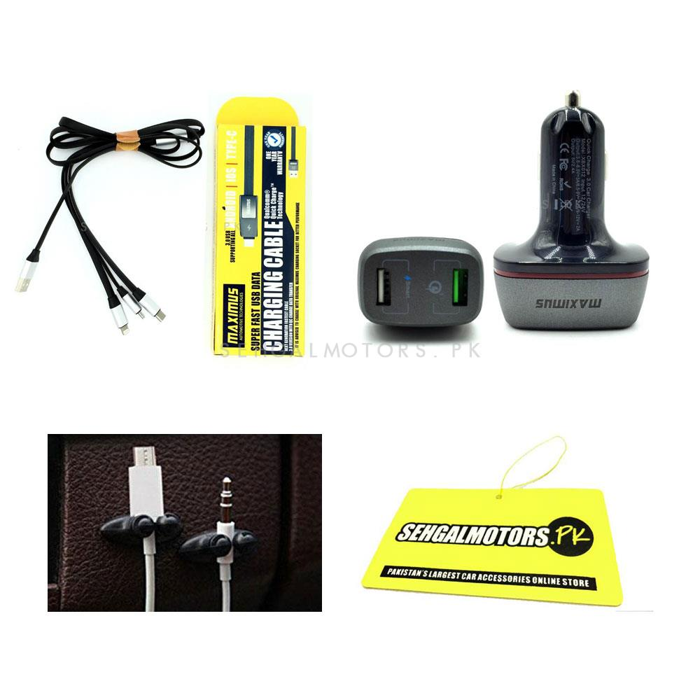 Multi Car Accessories Bundle Offer Package - 2-SehgalMotors.Pk