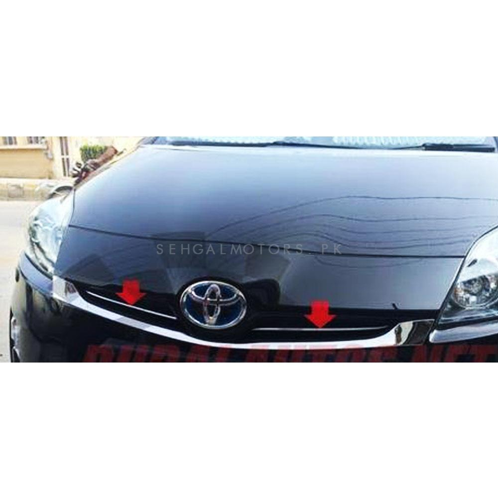 Toyota Prius Front Grille  Chrome Trims - Model 2009-2015-SehgalMotors.Pk