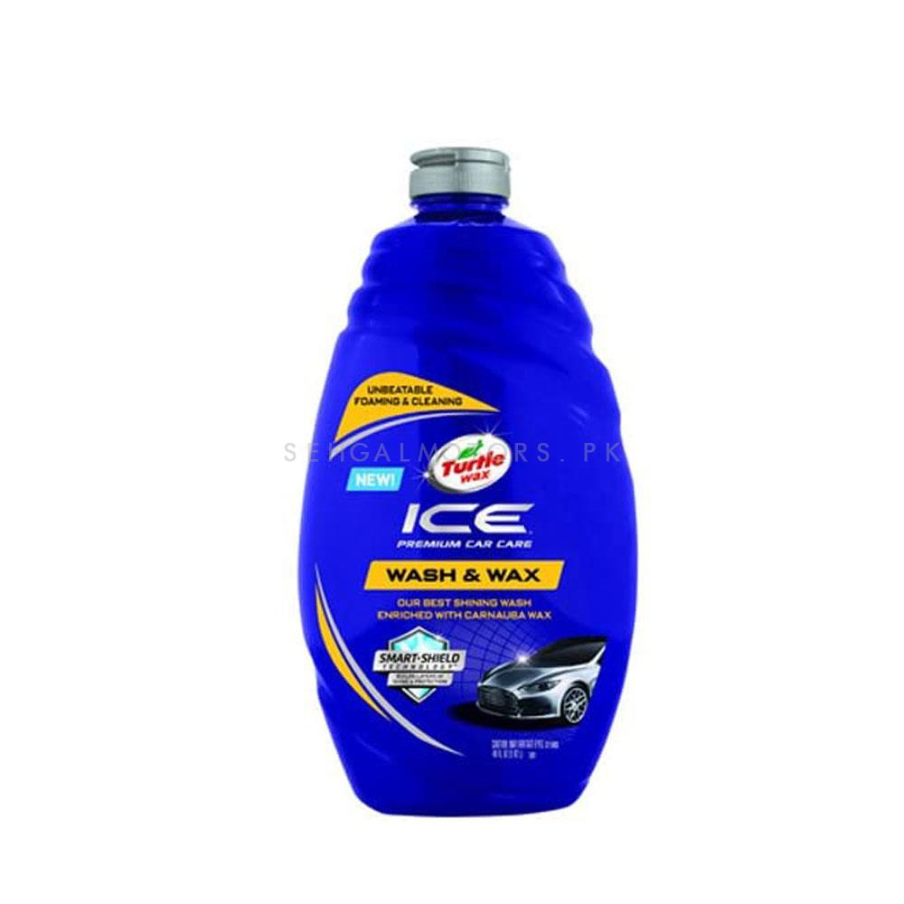 Turtle Wax T472 ICE Car Wash   Car Shampoo   Car Cleaning Agent   Car Care Product   2 in 1 Product   Glossy Touch Shampoo   Mirror Like Shine-SehgalMotors.Pk