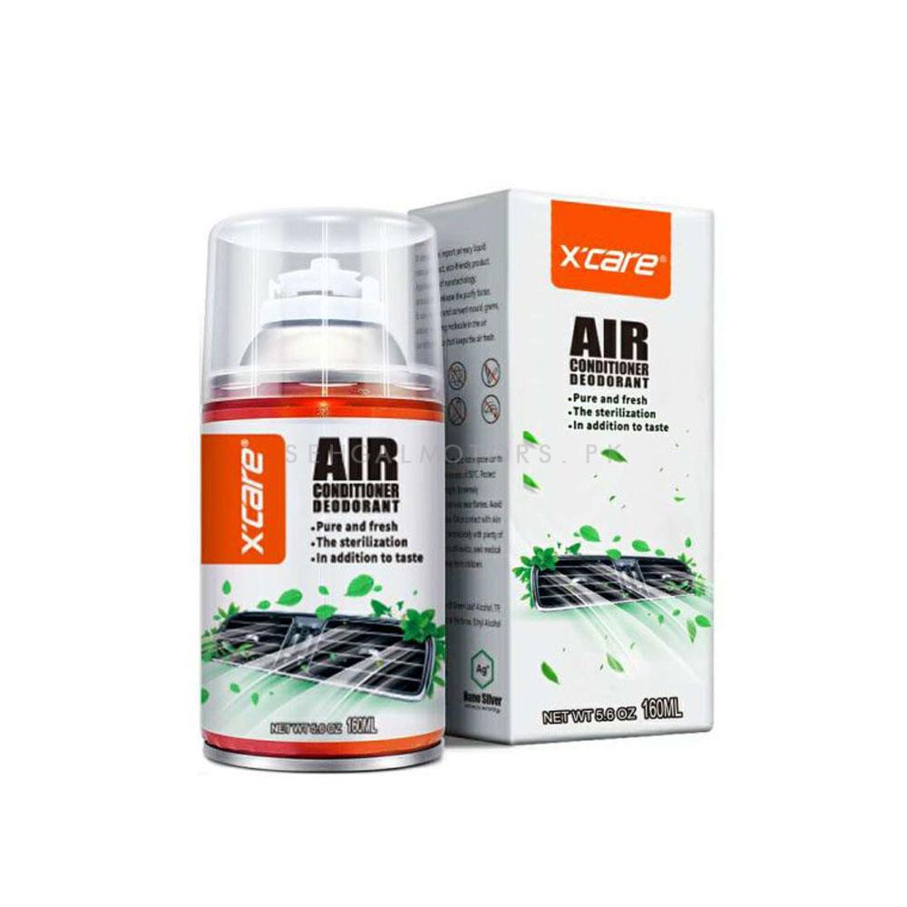 XCare Air Conditioner Deodorant Pure and Fresh - 120 ML | X-care | Kills Bacteria-SehgalMotors.Pk