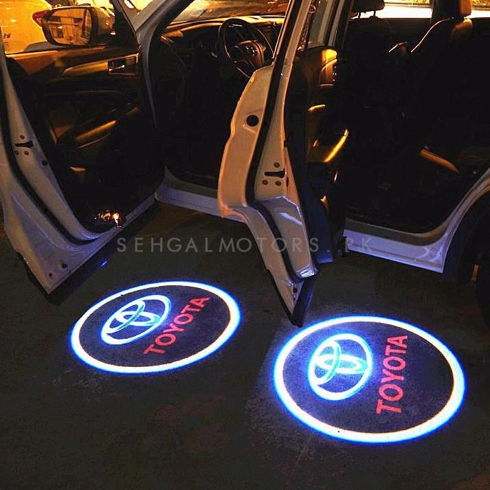 Toyota Ghost Shadow Floor LED Light | Car LED Courtesy Door Projector Light | Door Welcome Light Ghost Shadow Light Lamp-SehgalMotors.Pk