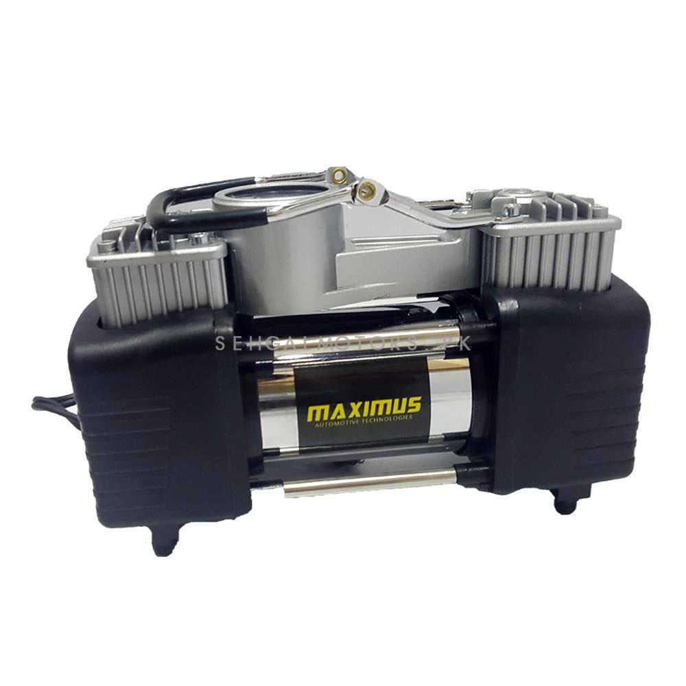 Maximus Double Cylinder Professional Air Compressor With Tool Kit   Tire Air Compressor Inflators-SehgalMotors.Pk