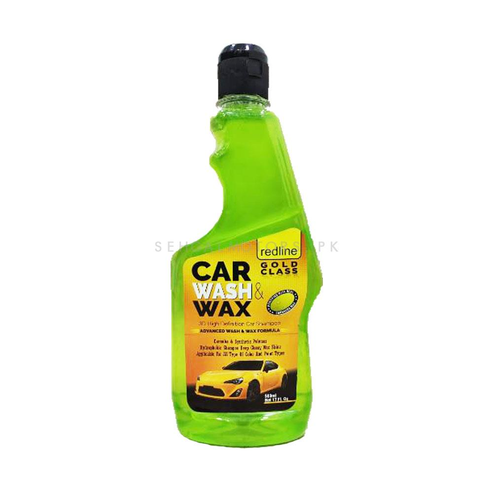Redline Gold Class Car Wash Shampoo & Conditioner - 500ml | Car Shampoo | Car Cleaning Agent | Car Care Product | Glossy Touch Shampoo-SehgalMotors.Pk