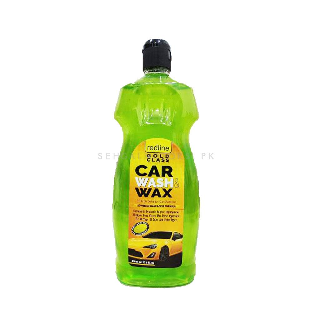 Redline Gold Class Car Wash Shampoo & Conditioner - 1000ml | Car Shampoo | Car Cleaning Agent | Car Care Product | Glossy Touch Shampoo-SehgalMotors.Pk