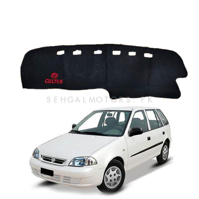Suzuki Cultus Dashboard Carpet For Protection and Heat Resistance with Suzuki Logo Old Model - Model 2000-2016-SehgalMotors.Pk