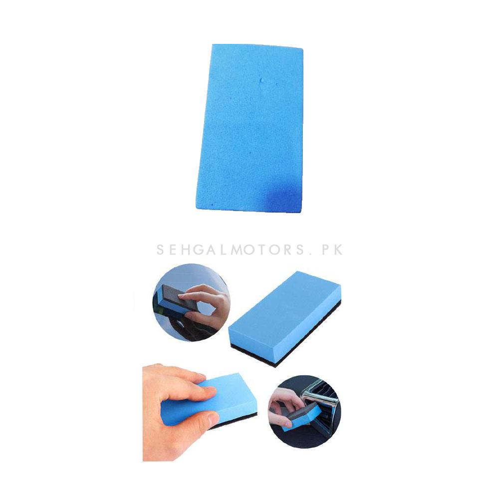Polishing Sponge Blue| Applicator Sponge |Cleaning Pad | Applicator Pad-SehgalMotors.Pk