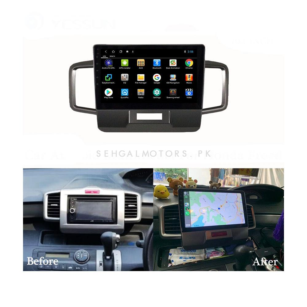 Honda Freed Android IPS LCD Multimedia Navigation System 4GB+64GB - Model 2011-2014-SehgalMotors.Pk