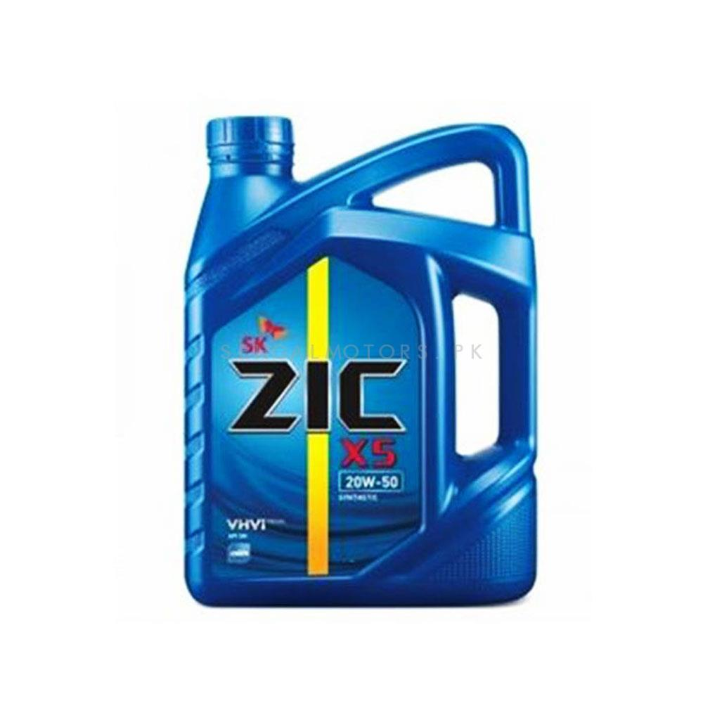 ZIC X5 20W-50 Gasoline Engine Oil - 3L-SehgalMotors.Pk