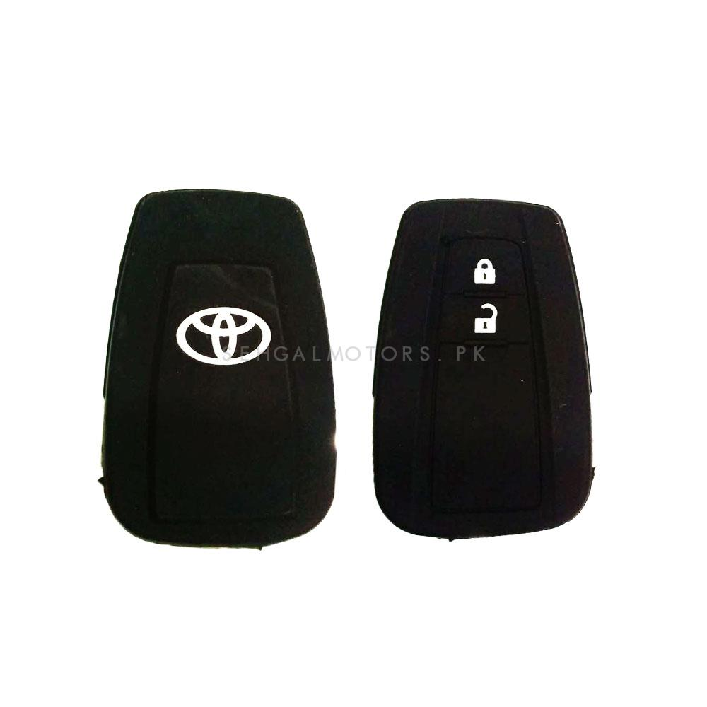 Toyota CHR PVC Silicone Protection Key Cover | Full Cover Remote Case Keyless Protector Jacket | Silicone Key Case - Model 2017-2018-SehgalMotors.Pk