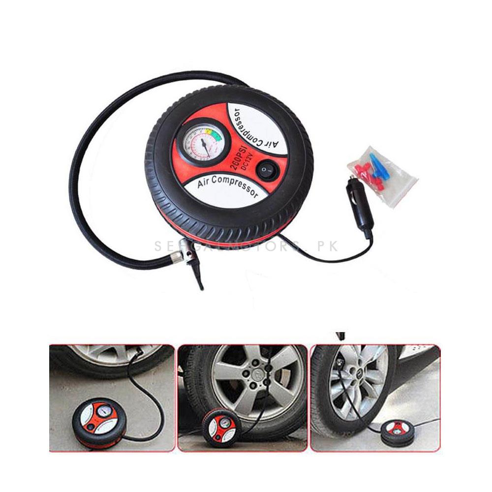 Tyre Style 260 PSI Tyre Air Compressor 12v | Tire Air Compressor Inflators-SehgalMotors.Pk