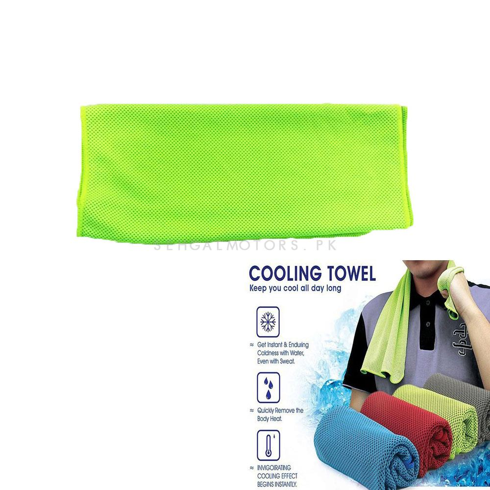 Cooling Towel For Instant Cooling Relief -SehgalMotors.Pk
