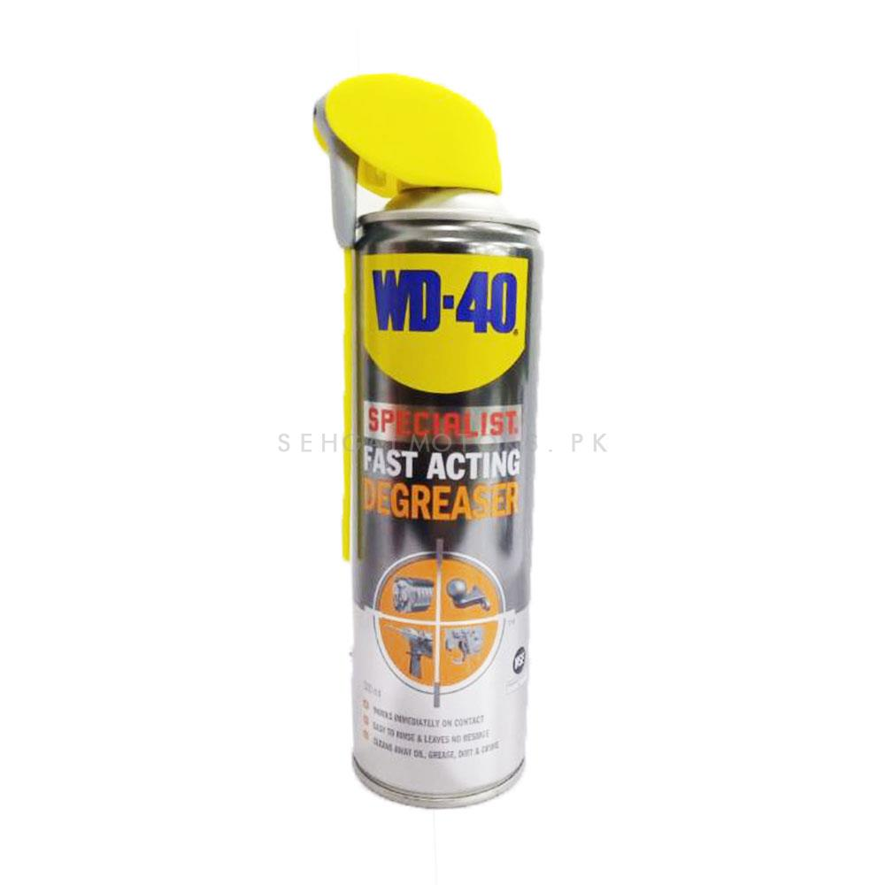 WD 40 Specialist Fast Acting Degreaser 500ml-SehgalMotors.Pk