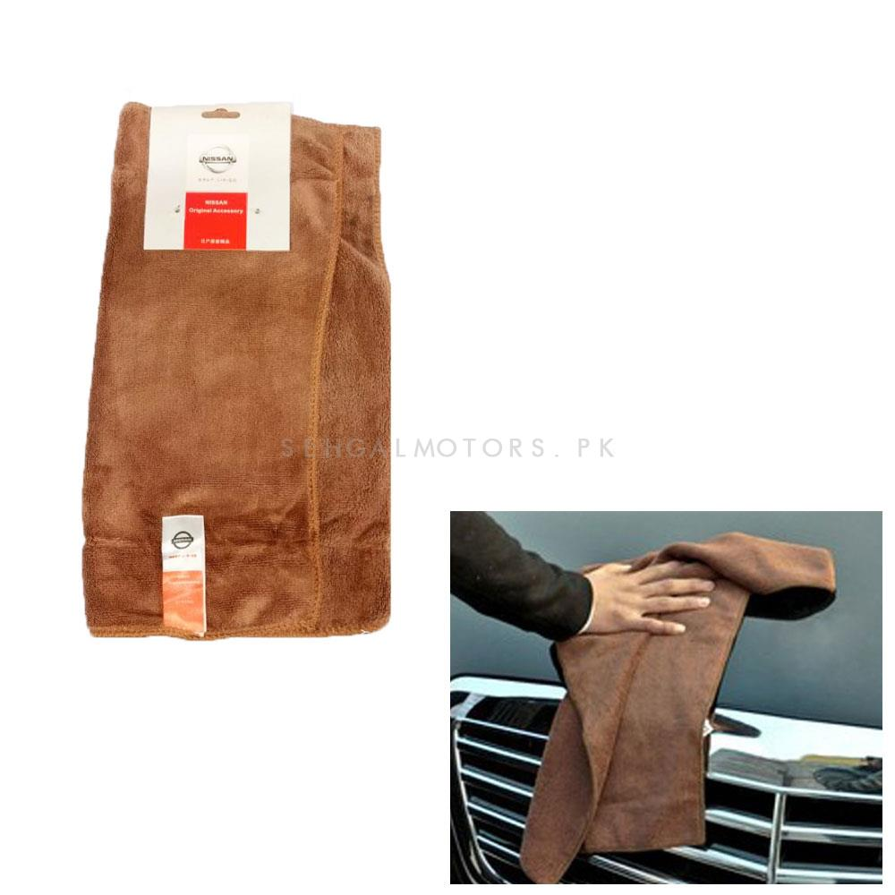 Nissan Ultra Soft Microfiber Cloth | Water Absorption Home Automobile Accessories | Velvet Car Wash Cloth Auto Cleaning Door Window Care Thick Strong-SehgalMotors.Pk
