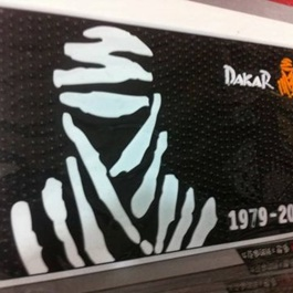 Dakar Non Slip / Anti Skid Mat For Dashboard Mats-SehgalMotors.Pk