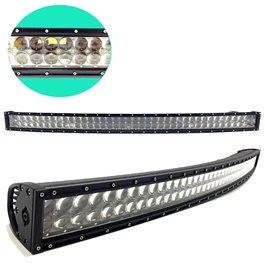 300W 100 SMD 4D Roof Bar Light Curve Nano Projection Lens - 4.2 Foot 52 inches-SehgalMotors.Pk