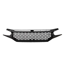 Honda Civic SI Front Grill Glossy Black - Model 2016-2017