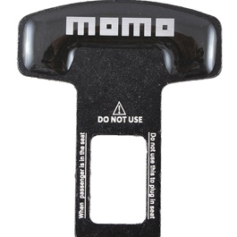 Momo Seat Belt Clip Black - Pair | Safety Belt Buckles Real Trucks Car Seat Safety Belt Alarm Canceler Stopper | Car Safety Belt Clip Car Seat Belt Buckle-SehgalMotors.Pk