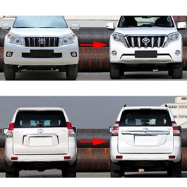Toyota Prado FJ150 Complete Conversion facelift China – Model 2010-2017-SehgalMotors.Pk