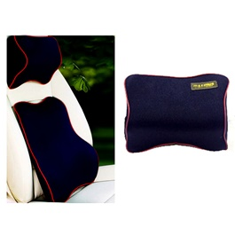 Maximus Neck Rest Pillow Blue-SehgalMotors.Pk