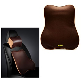 Maximus Back Rest Cushion Brown-SehgalMotors.Pk