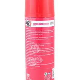 DG Dashboard Polish Rose 450ml - Red-SehgalMotors.Pk