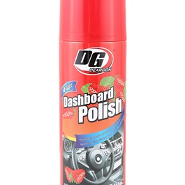 DG Dashboard Polish Strawberry 450ml - Red  | Dashboard Cleaner | Interior Cleaner Polish For Dashboard | Automobile Panel Dashboard Wax Cleaner-SehgalMotors.Pk