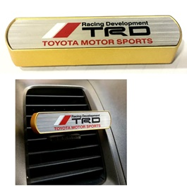 TRD AC Grill Perfume Gold Color-SehgalMotors.Pk