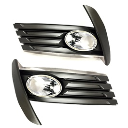 Toyota Corolla Face Lift DLAA Fog Lamps with Chrome TY877-C - Model 2017-2019-SehgalMotors.Pk