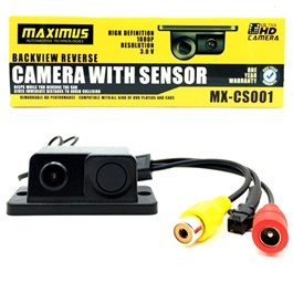 Maximus Reverse Camera with Parking Sensor – 1 Piece