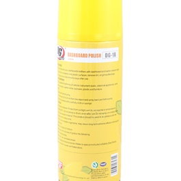 DG Dashboard Polish Lemon 450ml - Yellow-SehgalMotors.Pk