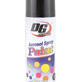 DG Spray Paint 450ml - Black-SehgalMotors.Pk