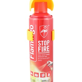 Flamingo Fire Stop 500ml - Red-SehgalMotors.Pk