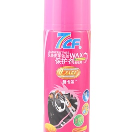 7CF Leather & Tyre Wax Strawbery 450ml - Pink-SehgalMotors.Pk