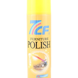 7CF Furniture Polish 550ml - Yellow-SehgalMotors.Pk