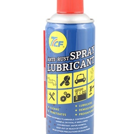 7CF Anti-Rust Spray Lubricant 450ml - Blue-SehgalMotors.Pk
