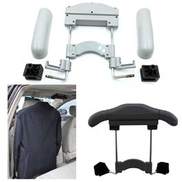 Car Back Seat Coat Hanger Grey Color-SehgalMotors.Pk