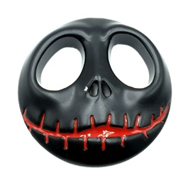 Halloween Metal Monogram Black-SehgalMotors.Pk