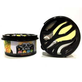 KEN MADD Gel Tin Air Freshener Car Perfume FragranceTropical Fruits-SehgalMotors.Pk