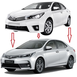 Toyota Corolla XLI GLI Facelift Conversion - Model 2014-2017-SehgalMotors.Pk